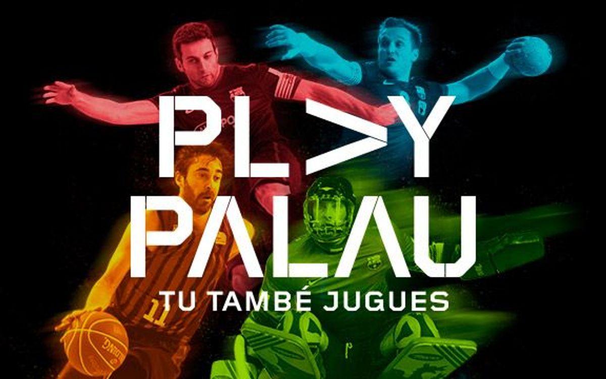 S'estrena 'Play Palau: tu també jugues'