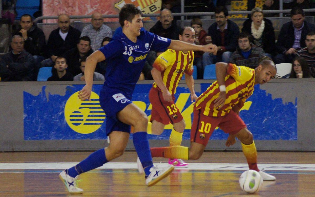 Azkar Lugo – Barça Alusport: Resposta de campió (2-6)