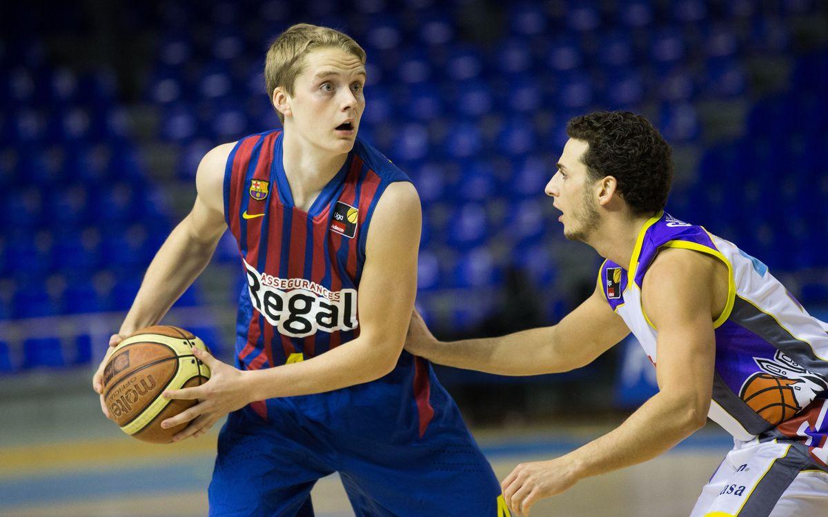 El azulgrana Ludde Hakanson, el jugador más joven del Eurobasket