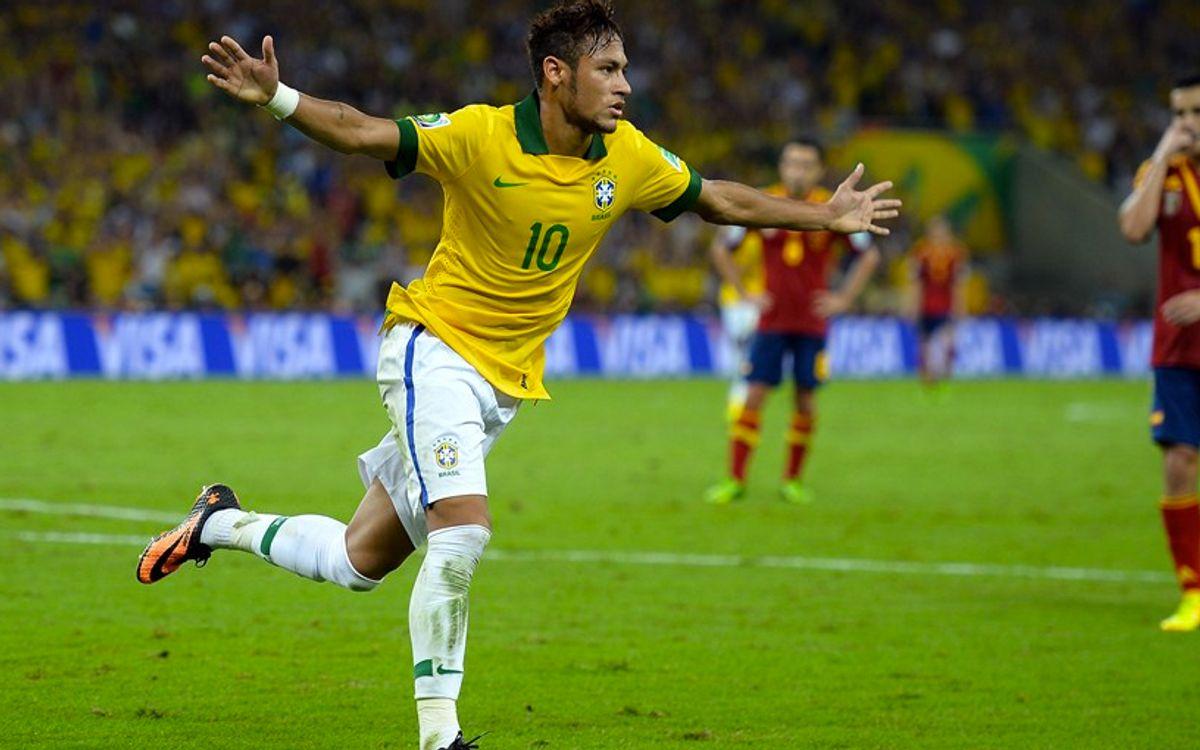 Le Brésil roi chez lui en finale de la Coupe des Confédérations (3-0)