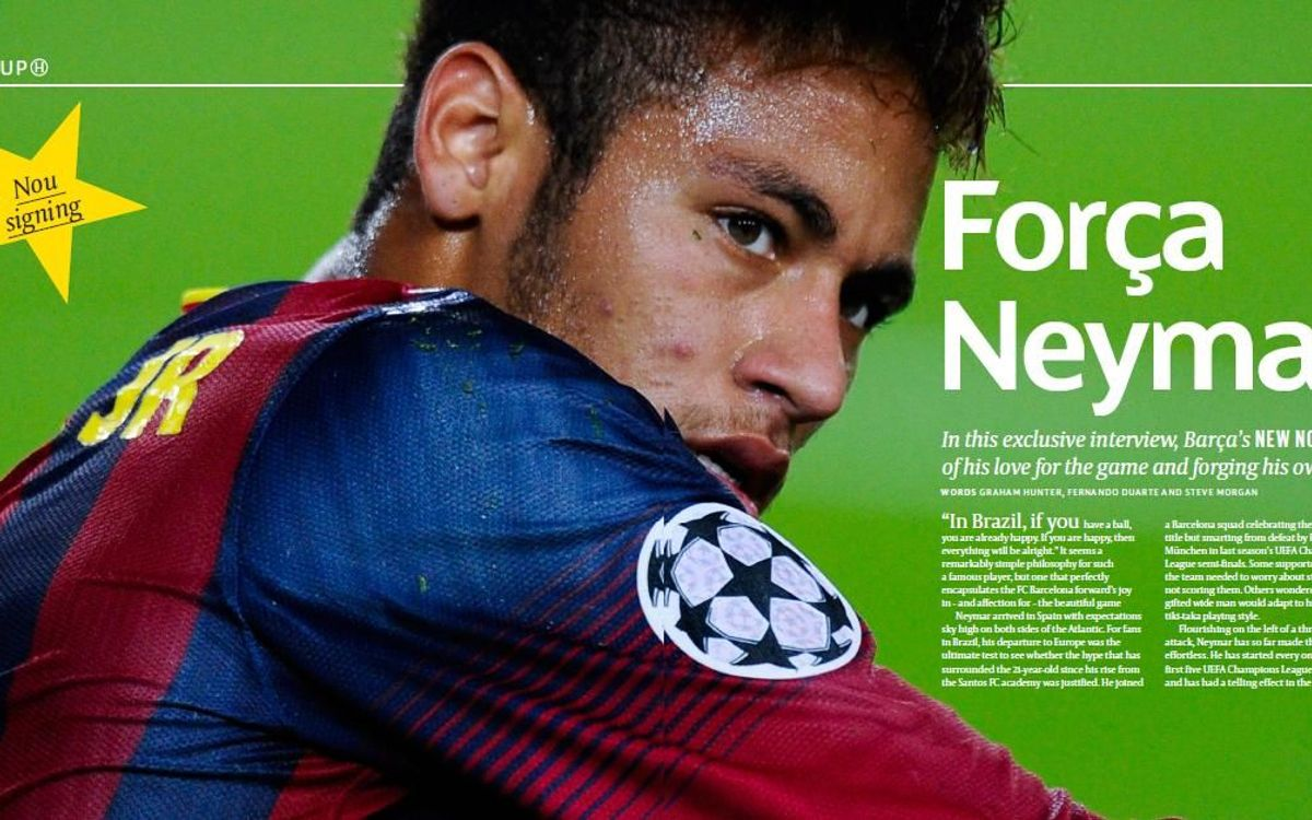 "Neymar: ""I have chosen a marvellous club to play for"
