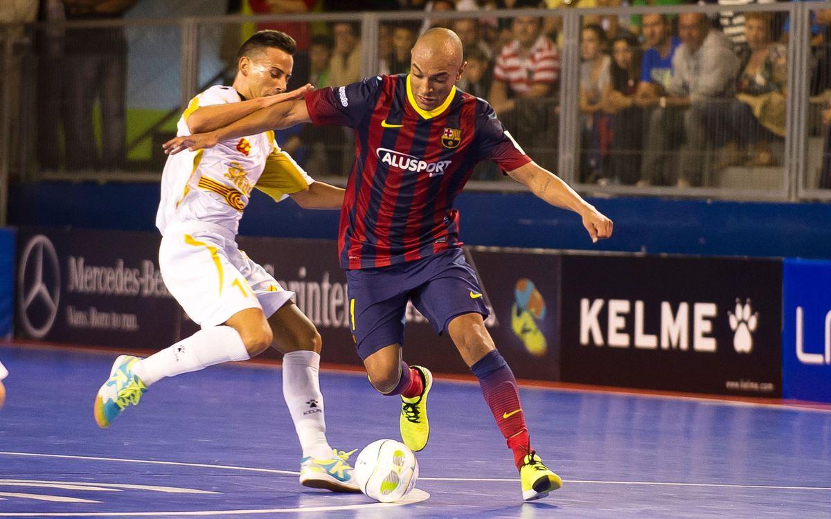 Els rivals del Barça Alusport, un a un