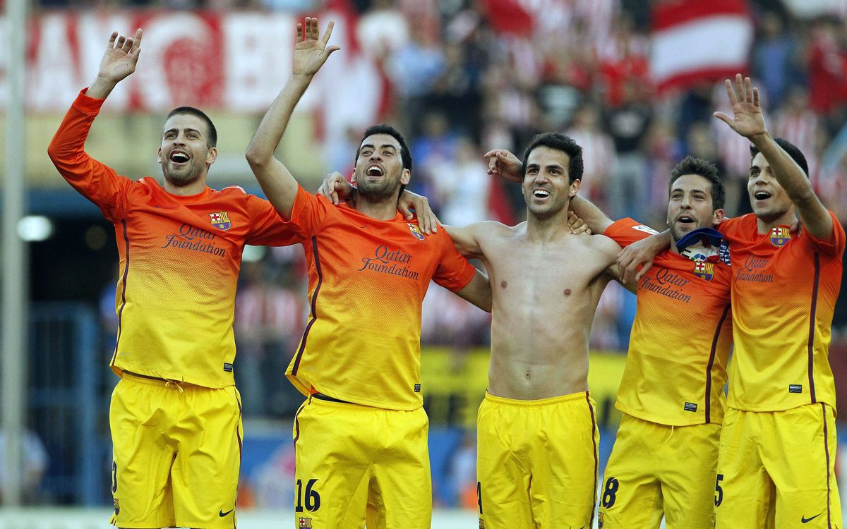 Third consecutive 1-2 for FC Barcelona at the Vicente Calderón