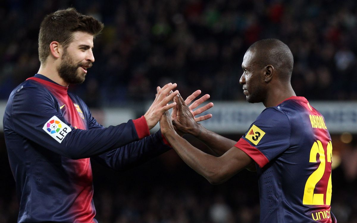 FCB-Mallorca: Five goal win as Abidal makes return (5-0)