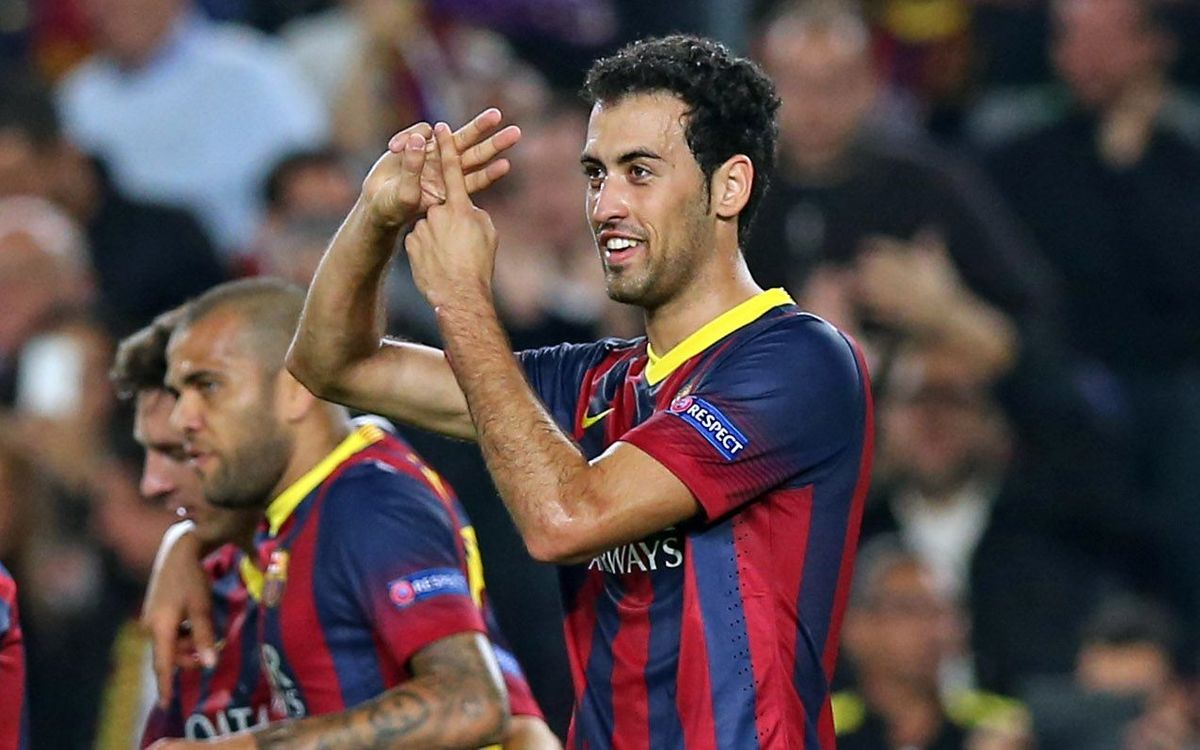 "Sergio Busquets: ""We reached our goal"""