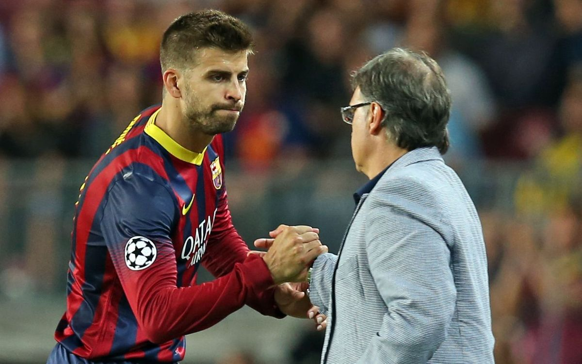 Gerard Piqué joins the 150 club