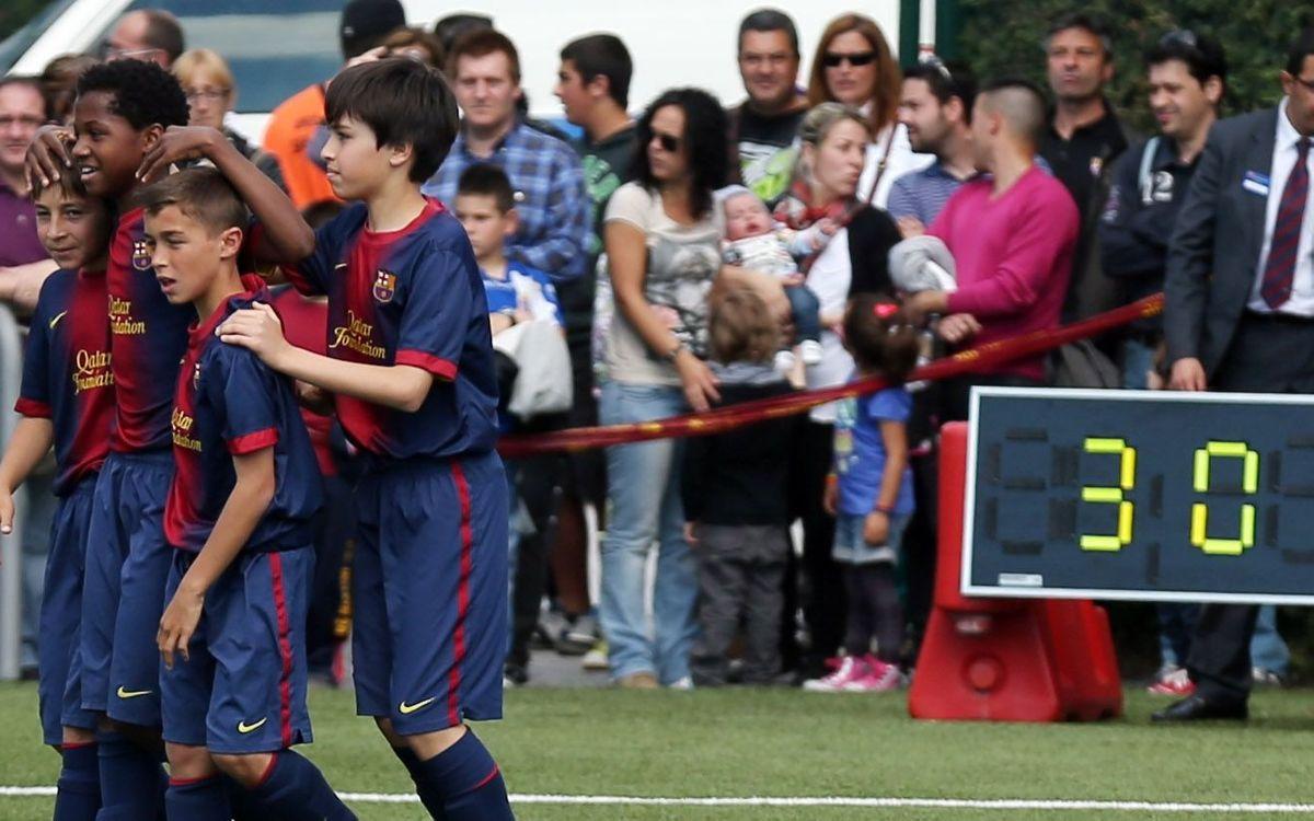 Dues Lligues i més victòries per al futbol formatiu
