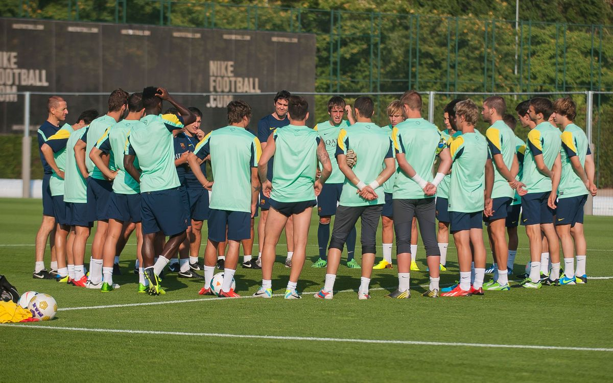 Barça B kicks off its preseason