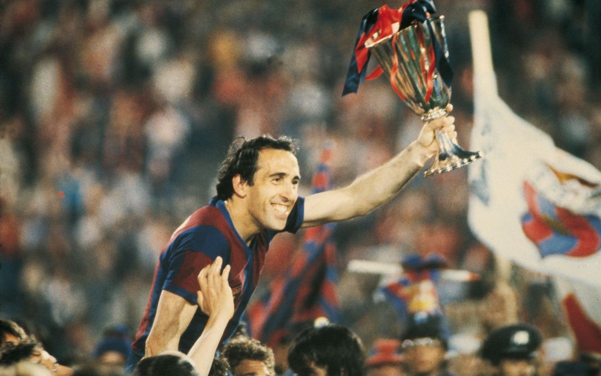 34 years ago... Barça Wins its First European Cup Winners' Cup