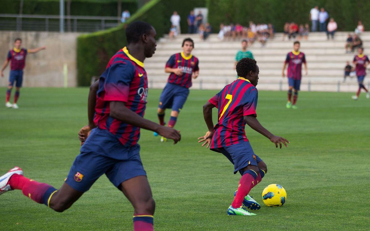 Nàstic de Tarragona - Juvenil A: Els tres punts volen a l'afegit (1-1)
