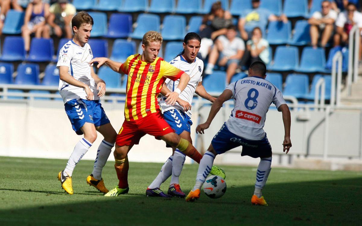 Denis, Campins i Lucas debuten a Tenerife