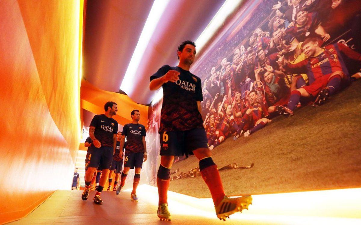 Barça's dressing room on matchday