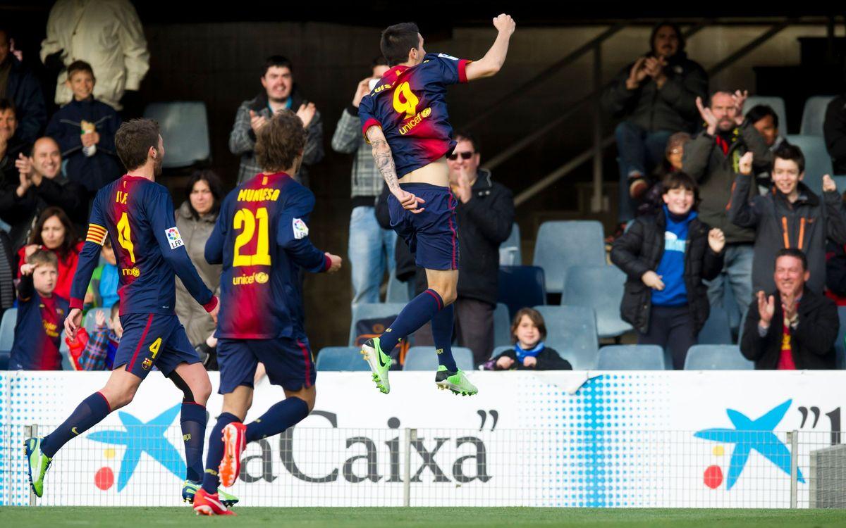 FC Barcelona B – CD Mirandés: Bittersweet draw (1-1)