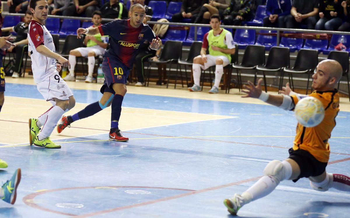 El Caja Segòvia serà el rival del Barça Alusport a semifinals