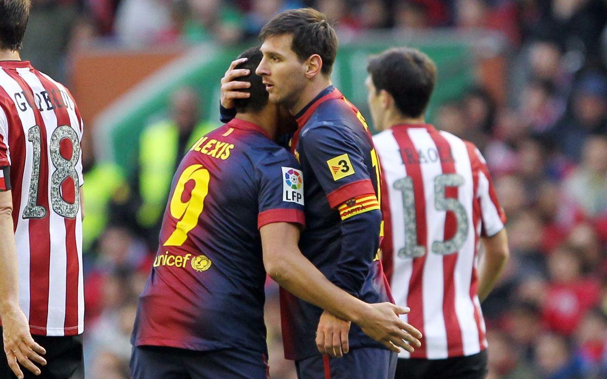 Leo Messi breaks more records in San Mamés