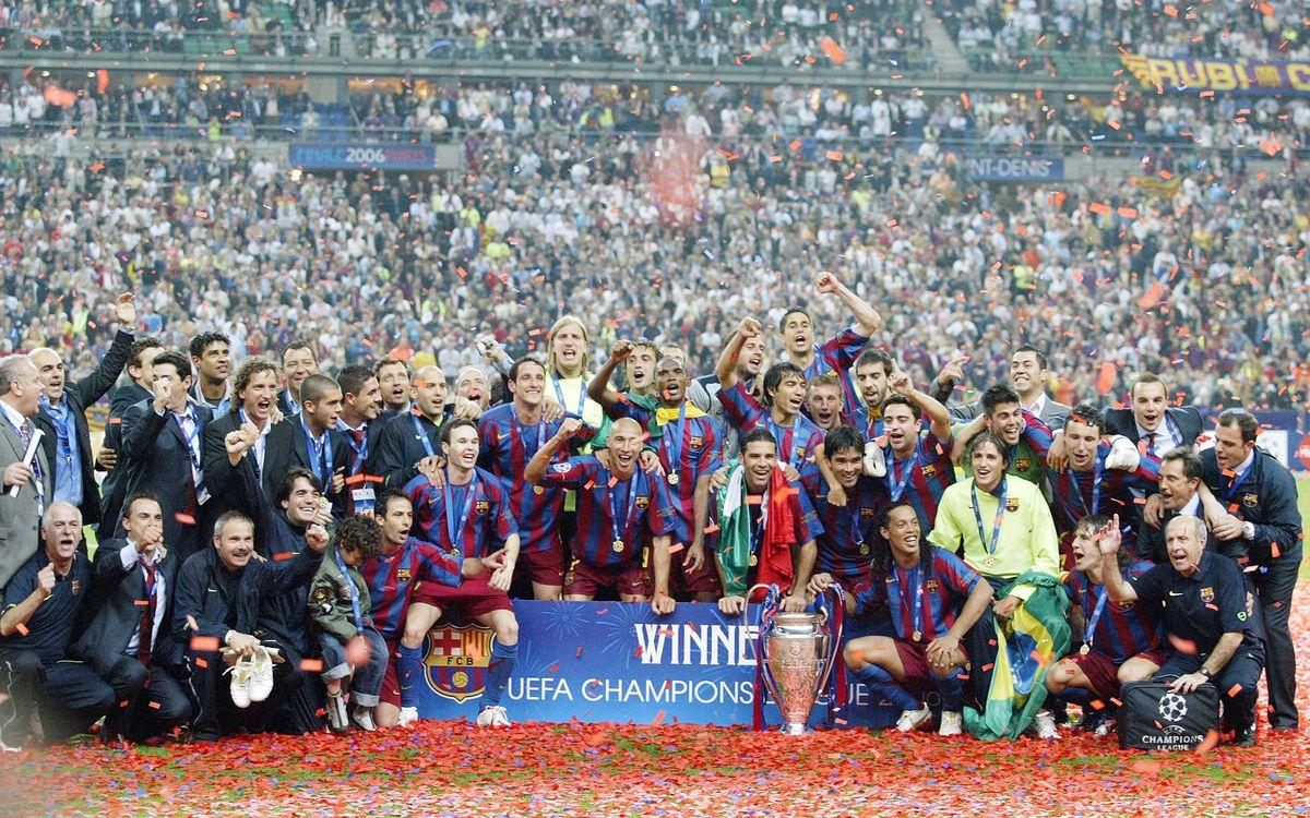 Set anys de la segona Copa d'Europa del Barça a París