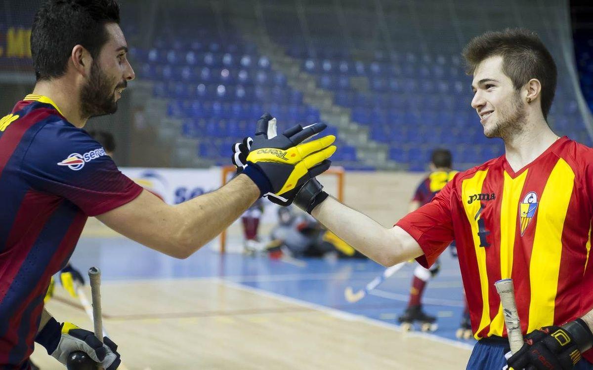 El Barça – CP Tordera, en dos minuts