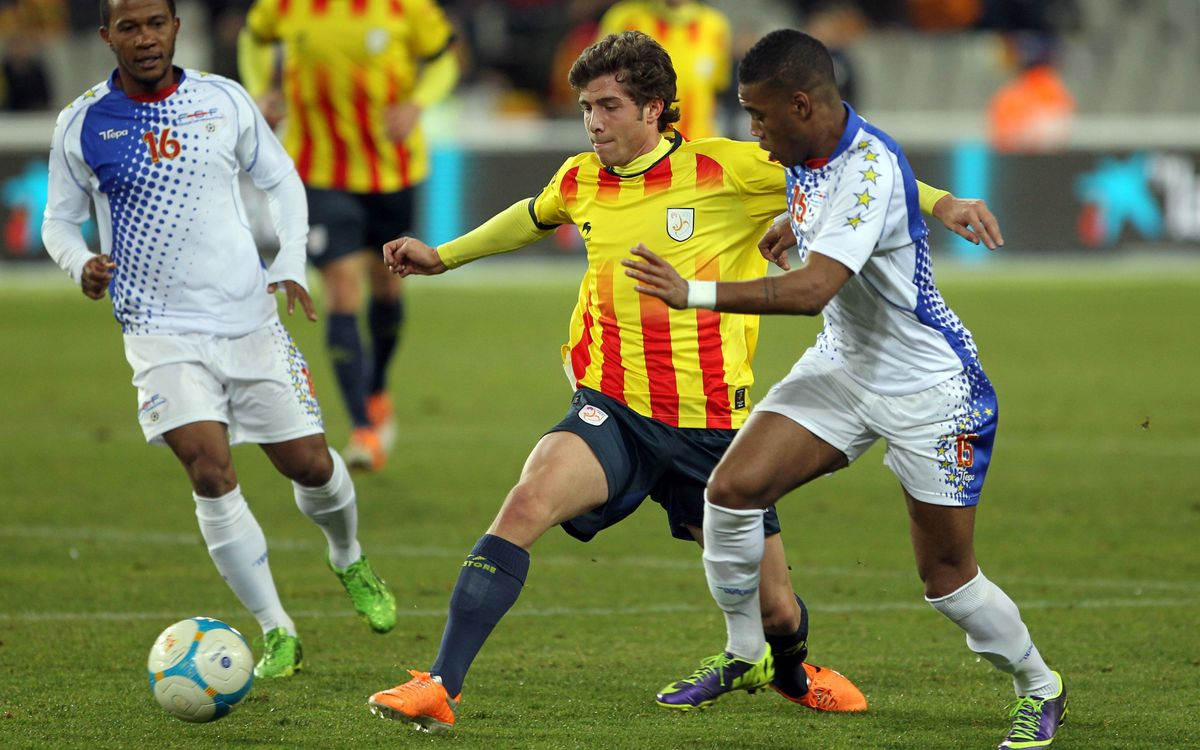 Catalonia – Cape Verde: Catalonia claim victory with eight FC Barcelona players (4-1)
