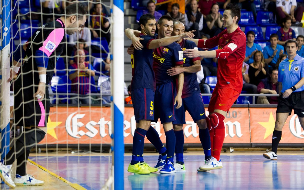 FCB Alusport – Manacor: Gabriel leads the Blaugrana to victory (8-1)