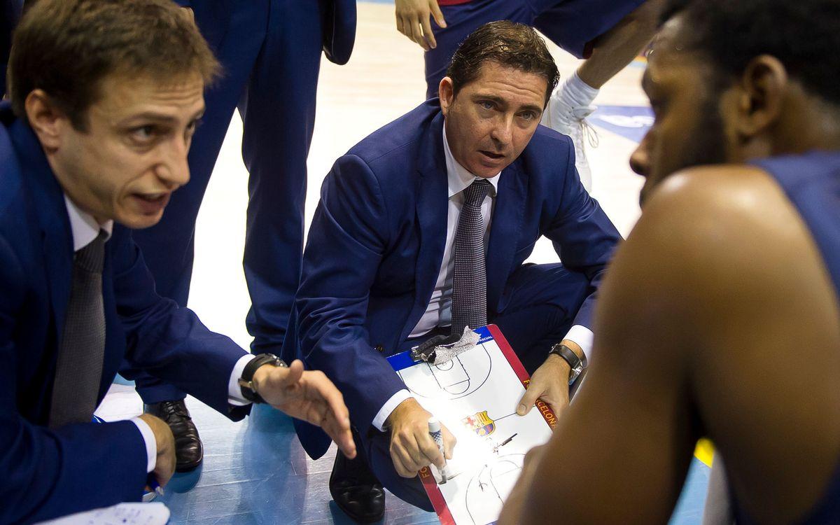"""Xavi Pascual: """"L'equip ha de trobar la seva personalitat"""""""