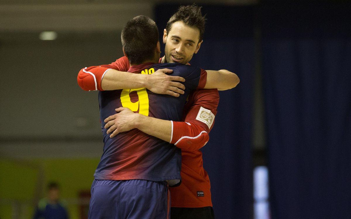 El Barça Alusport tanca la fase regular davant el mateix equip amb què jugarà a 1/4 del play-off