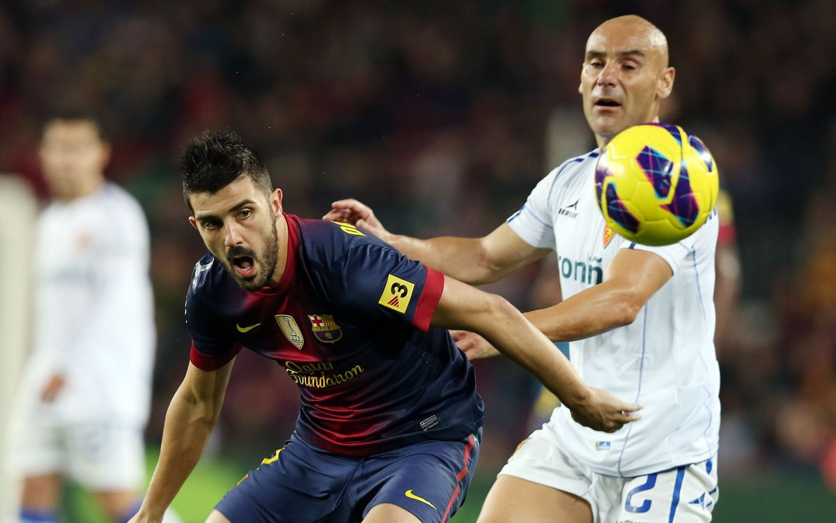 Excellent record at La Romareda for FC Barcelona