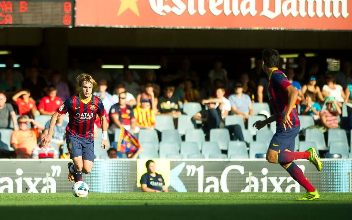 Confirmats els horaris dels cinc pròxims partits del Barça B a la Lliga Adelante