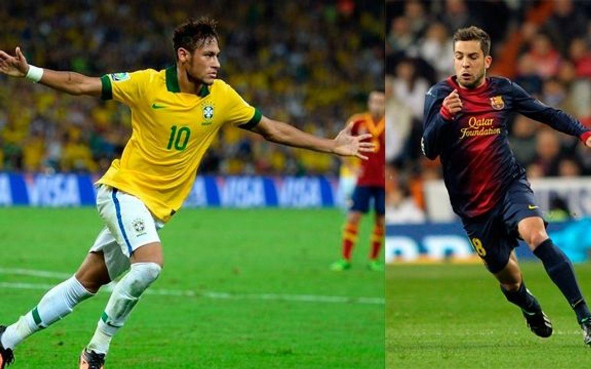 Neymar et Alba opérés pour résoudre leurs problèmes d'amygdales