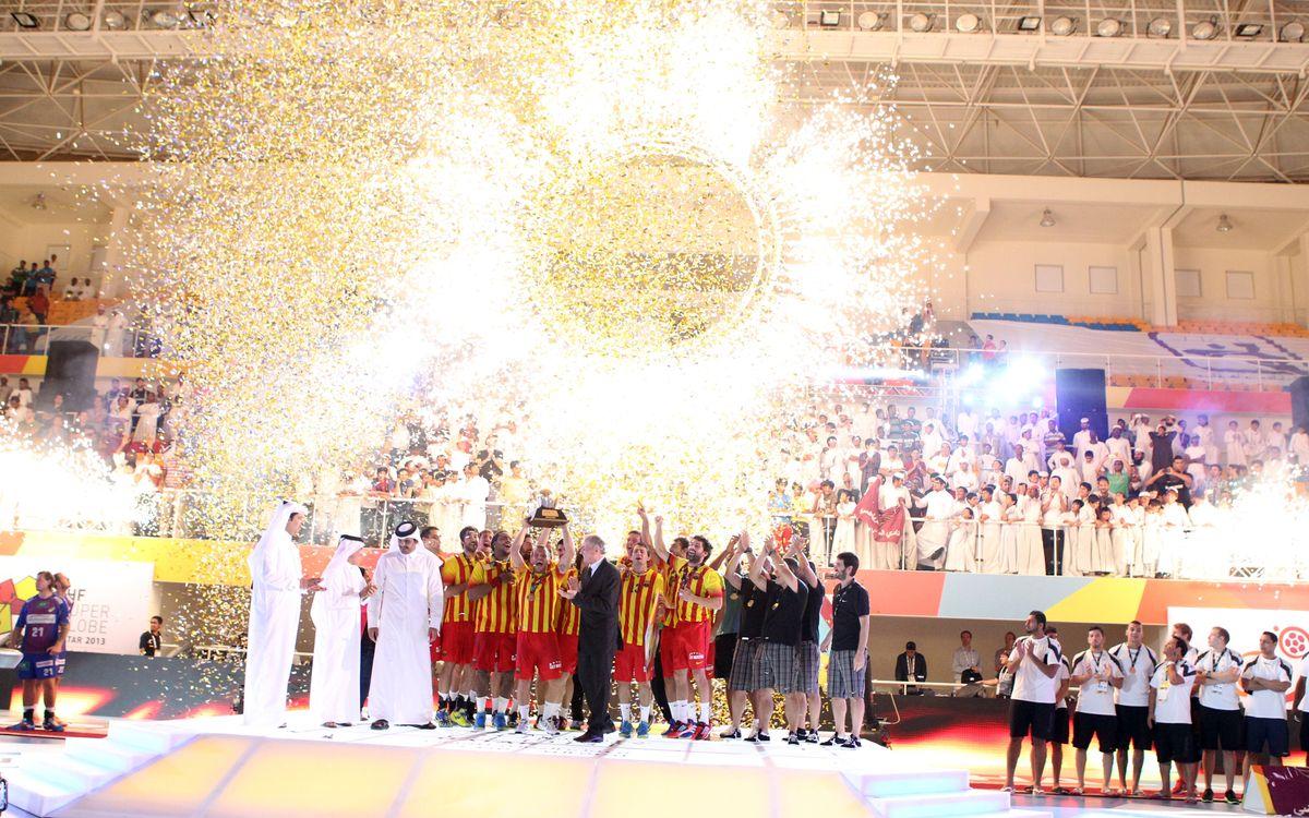 Le Barça remporte la Superglobe
