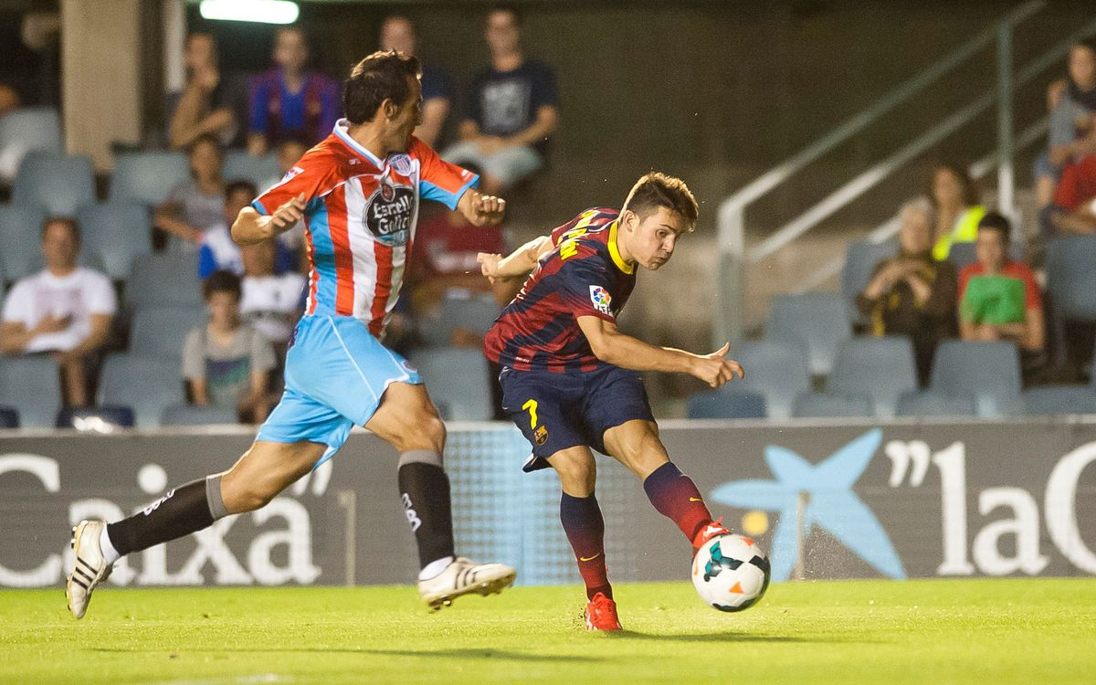 Barça B beat Lugo and take first three points of the season