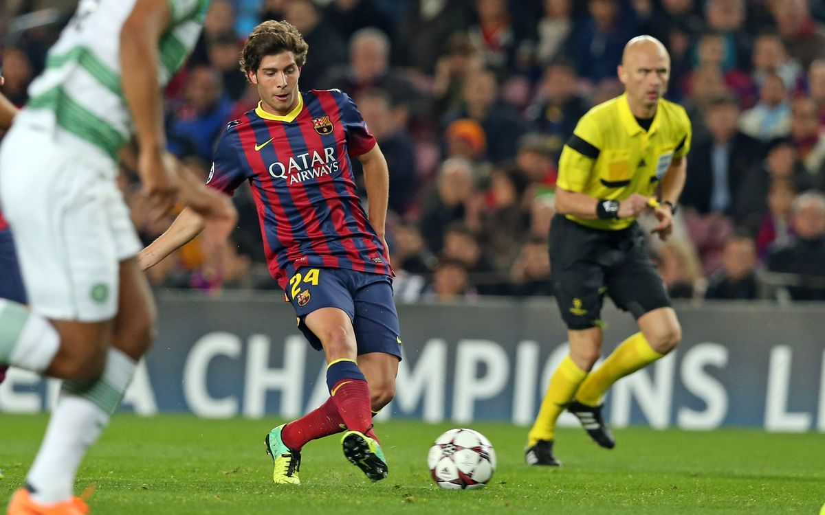 "Sergi Roberto: ""Any opponent will be tough"