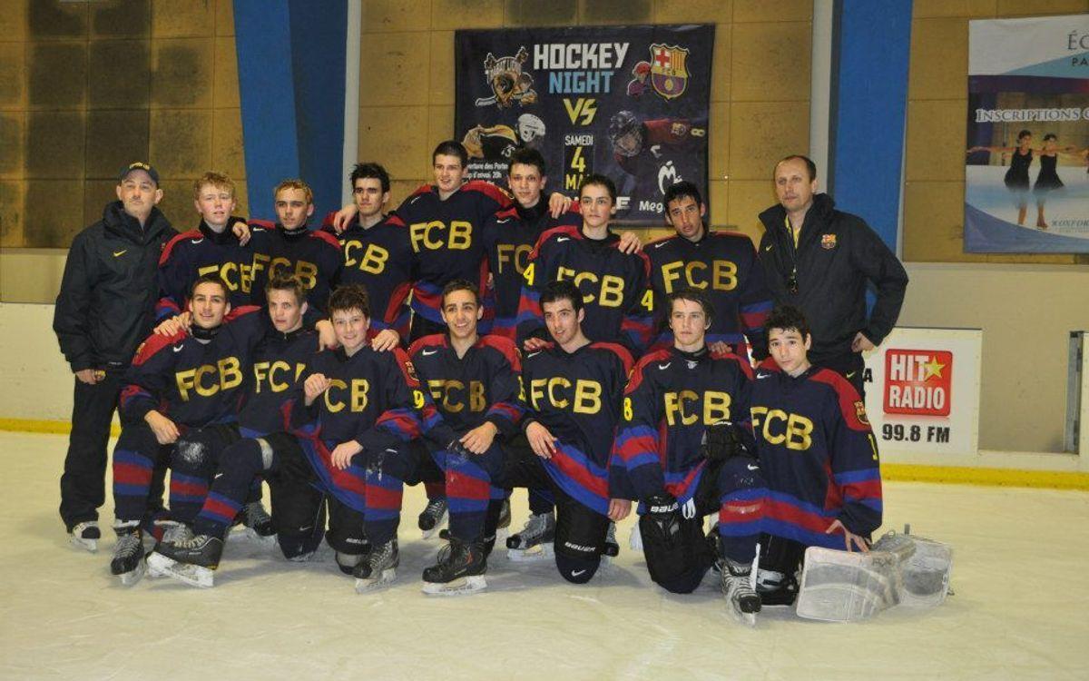 Els sub-18 del gel, a Rabat