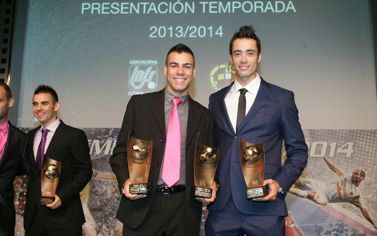 Presentada la nova temporada de la Lliga Nacional de Futbol Sala