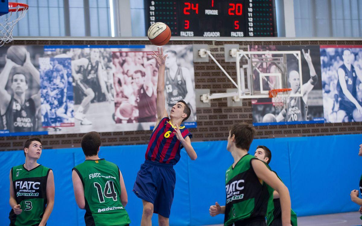 Jornada de contrastos al bàsquet base blaugrana