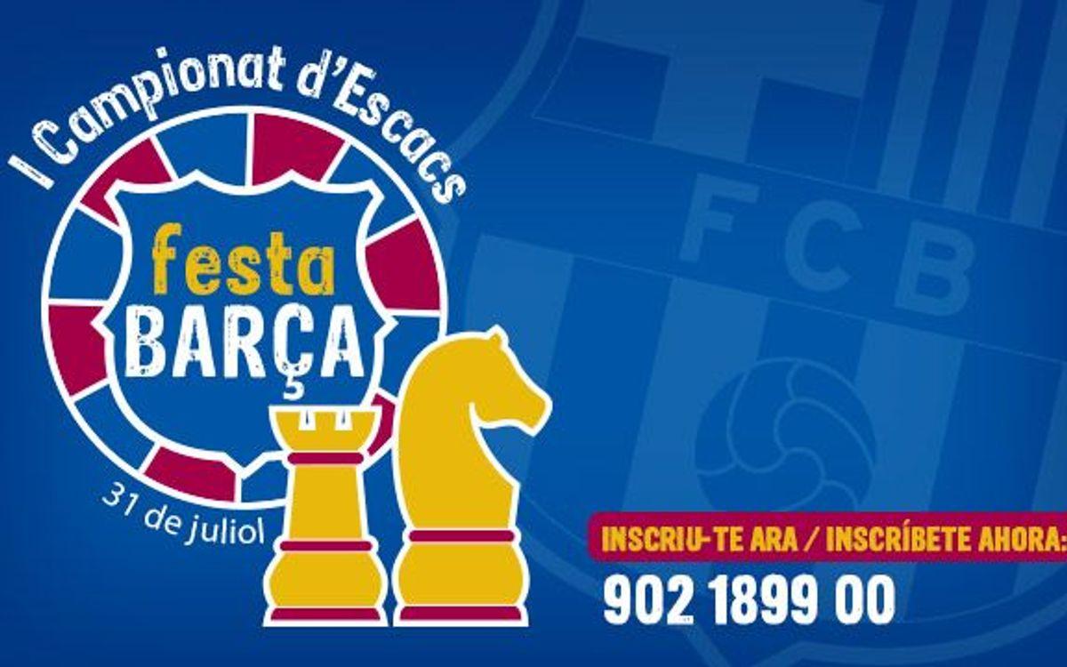 1er Campionat d'Escacs Festa Barça