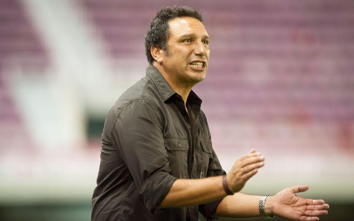 Eusebio, sancionat dos partits per la vermella a El Arcángel