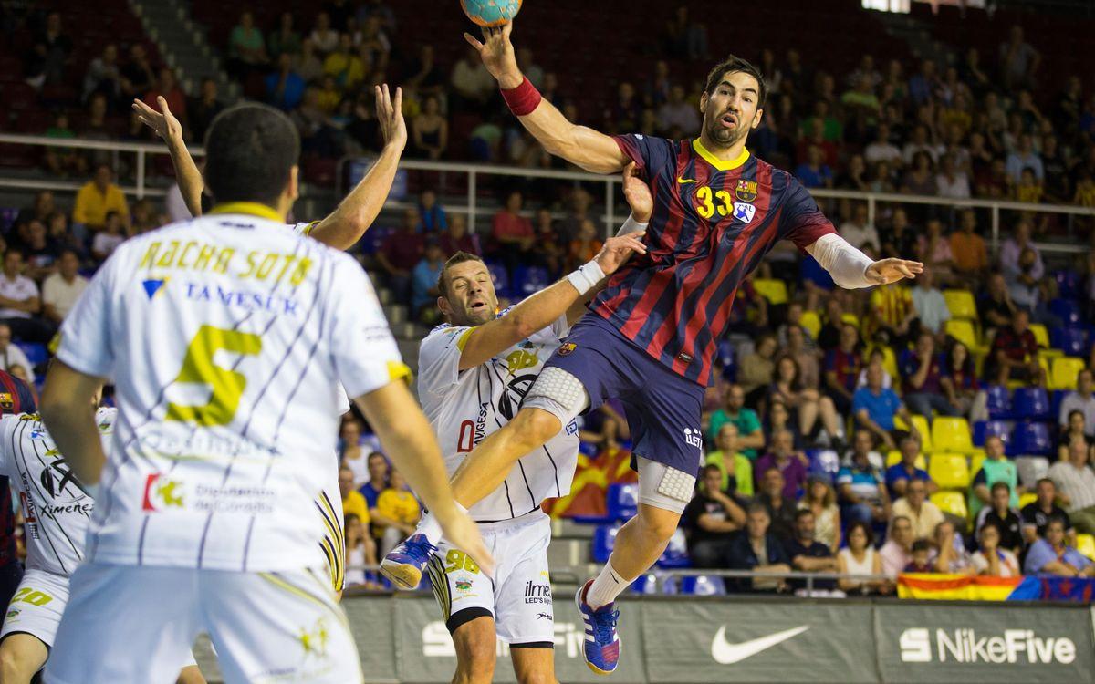 FC Barcelona - Puente Genil: Barça keep on rolling (39-23)