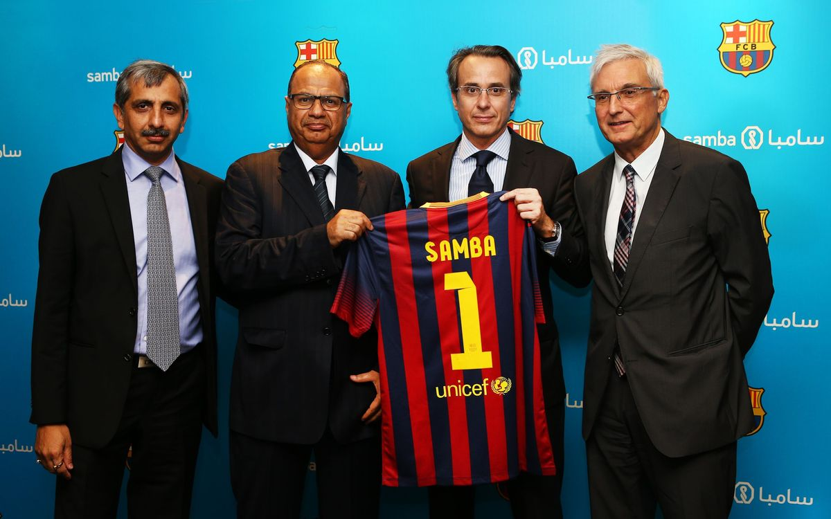 Sponsorship agreement with Samba in Saudi Arabia