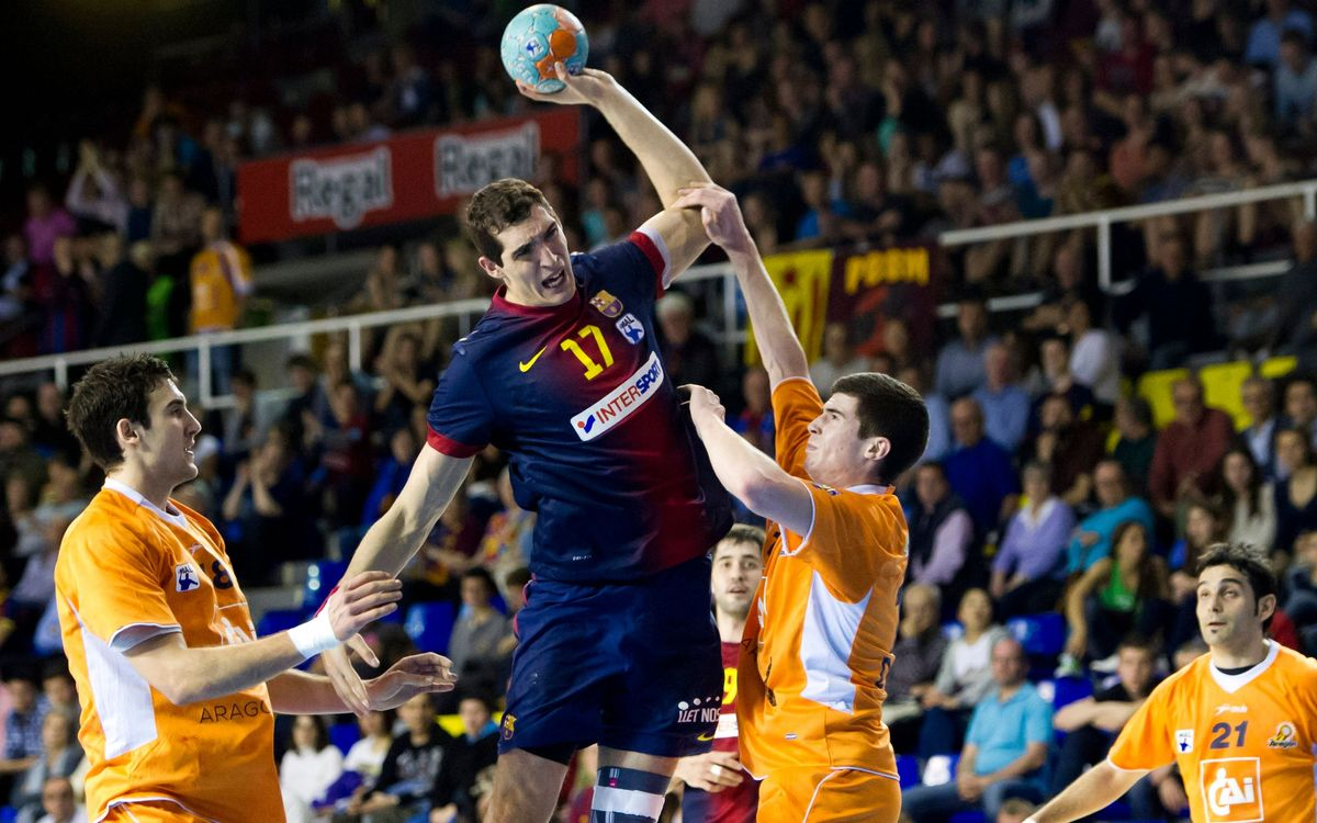 Barça Intersport – Caja 3 BM Aragó: 25 and counting! (42-28)