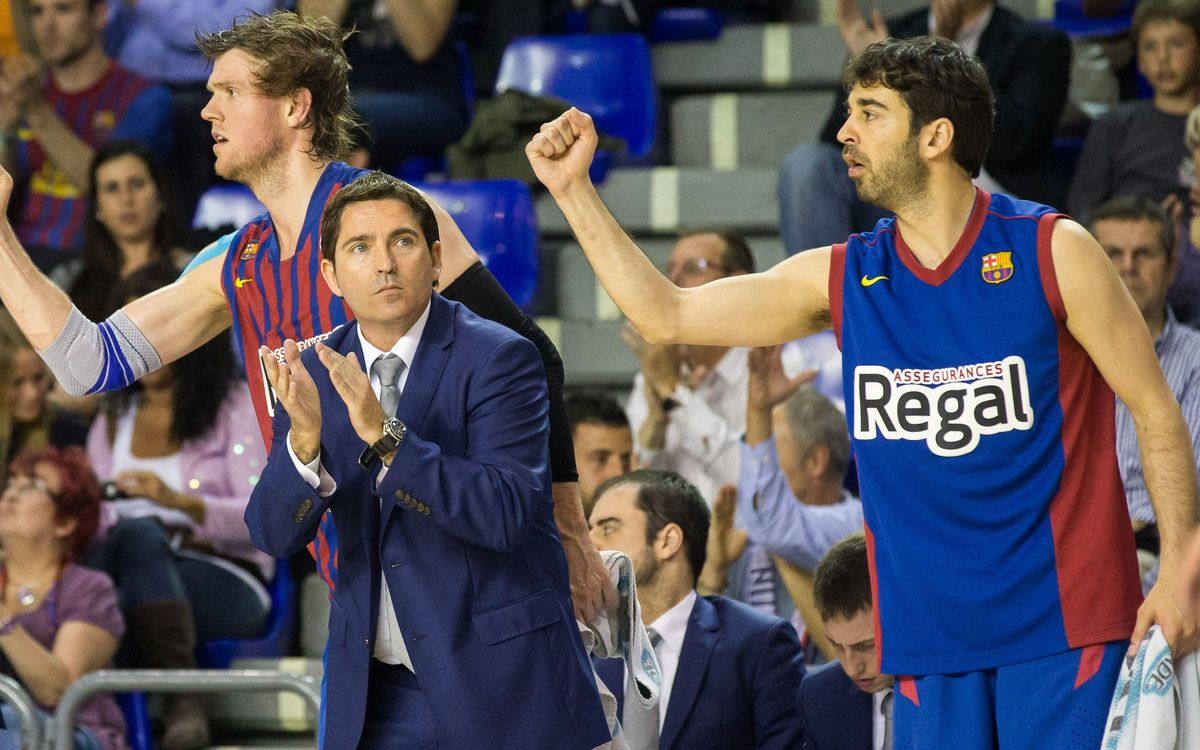 "Xavi Pascual: ""La defensa en zona ens ha fet creure en el triomf"""