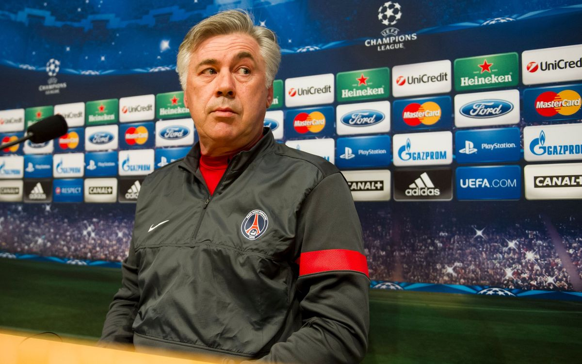 "Ancelotti: ""We need to be confident and show our character at the Camp Nou"""