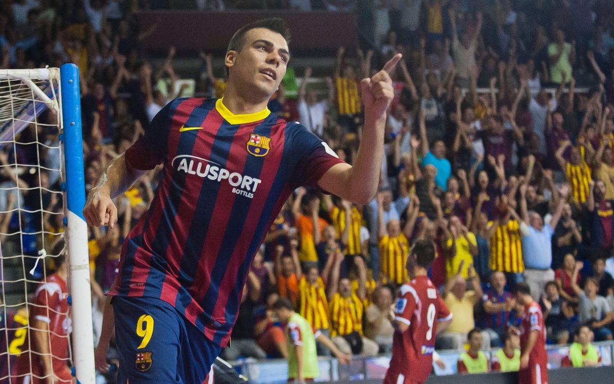 Inter Movistar - FC Barcelona Alusport: El liderat, en joc