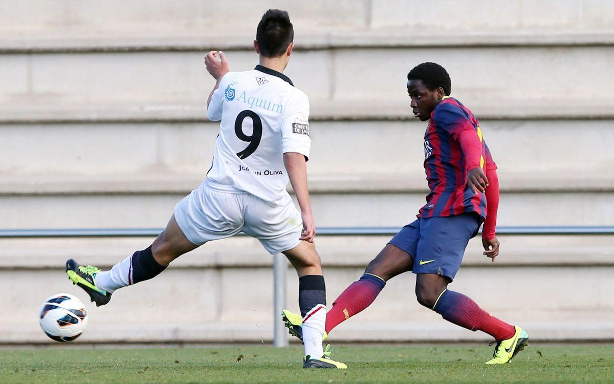 Juvenil A - Gimnàstic de Tarragona: Enguene i Munir donen tres punts més (2-0)