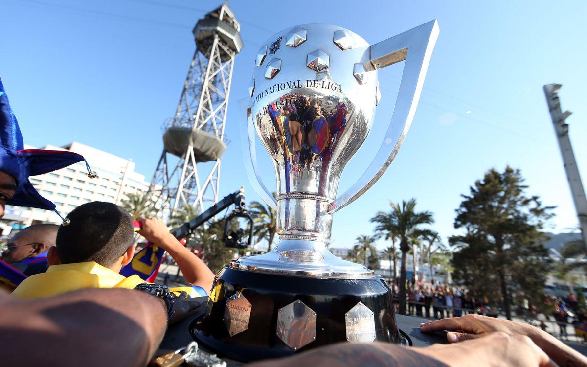 FC Barcelona v Valladolid: An evening of celebration