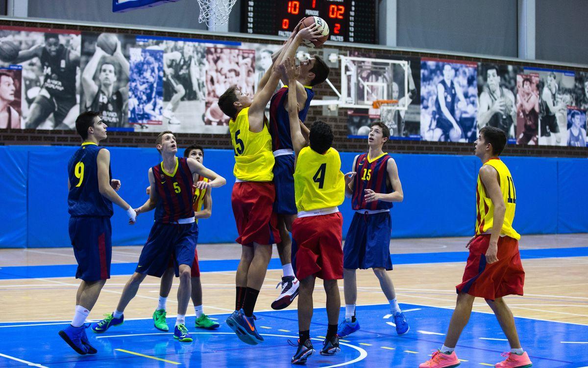 Cap de setmana agredolç per al bàsquet base del FC Barcelona
