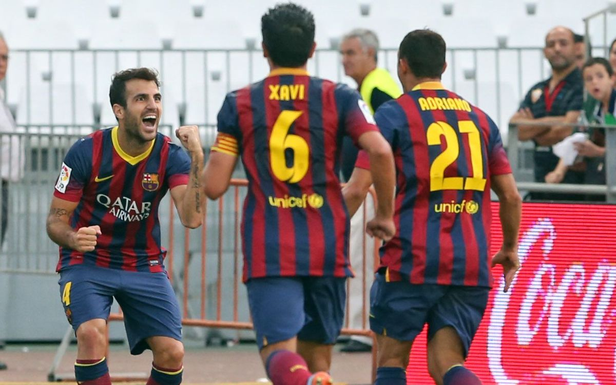 Barça set new record with Almeria win(0-2)