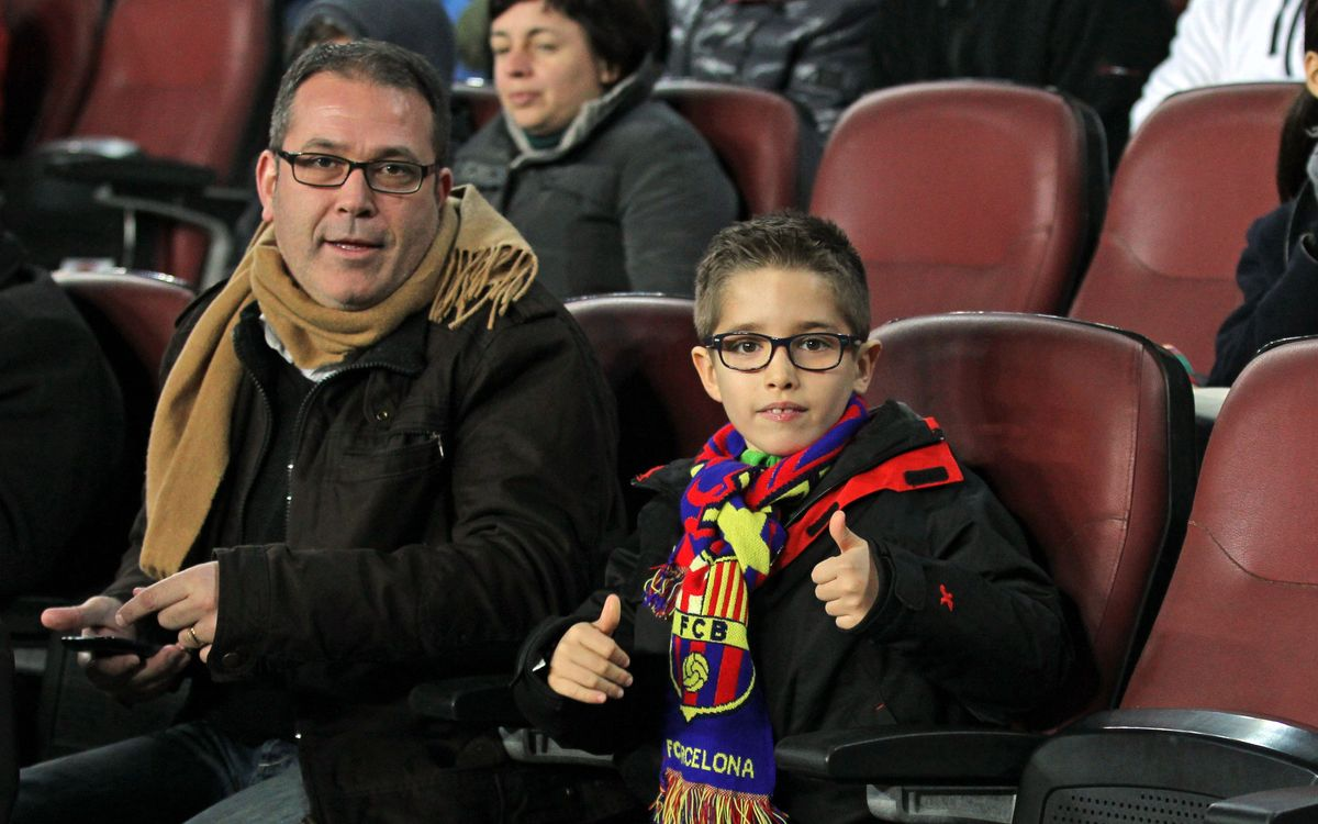 2,989 children under eight at the FC Barcelona-Granada game