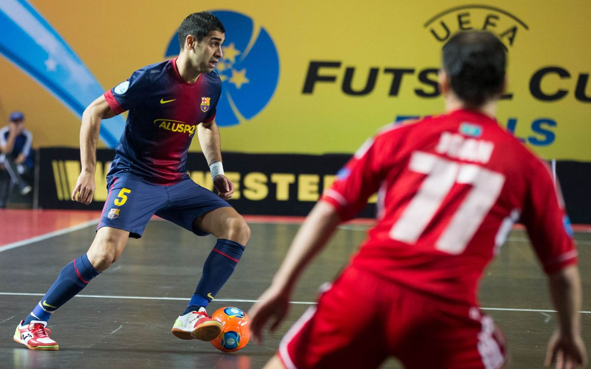 El Barça Alusport es jugarà a Eslovènia o a Txèquia el seu pas a la Final 4