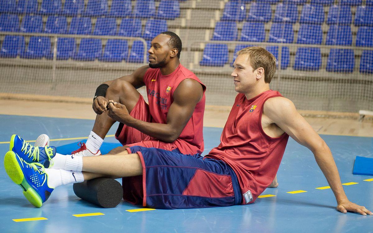 El Barça completa el primer entrenament del nou curs