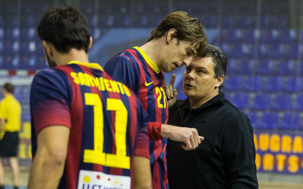 """Xavi Pascual: """"Volem guanyar la Copa"""""""